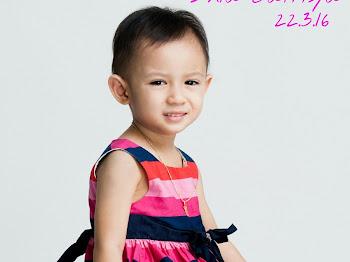 Mini Giveaway Hari Jadi Dhia Batrisya Tiga Tahun