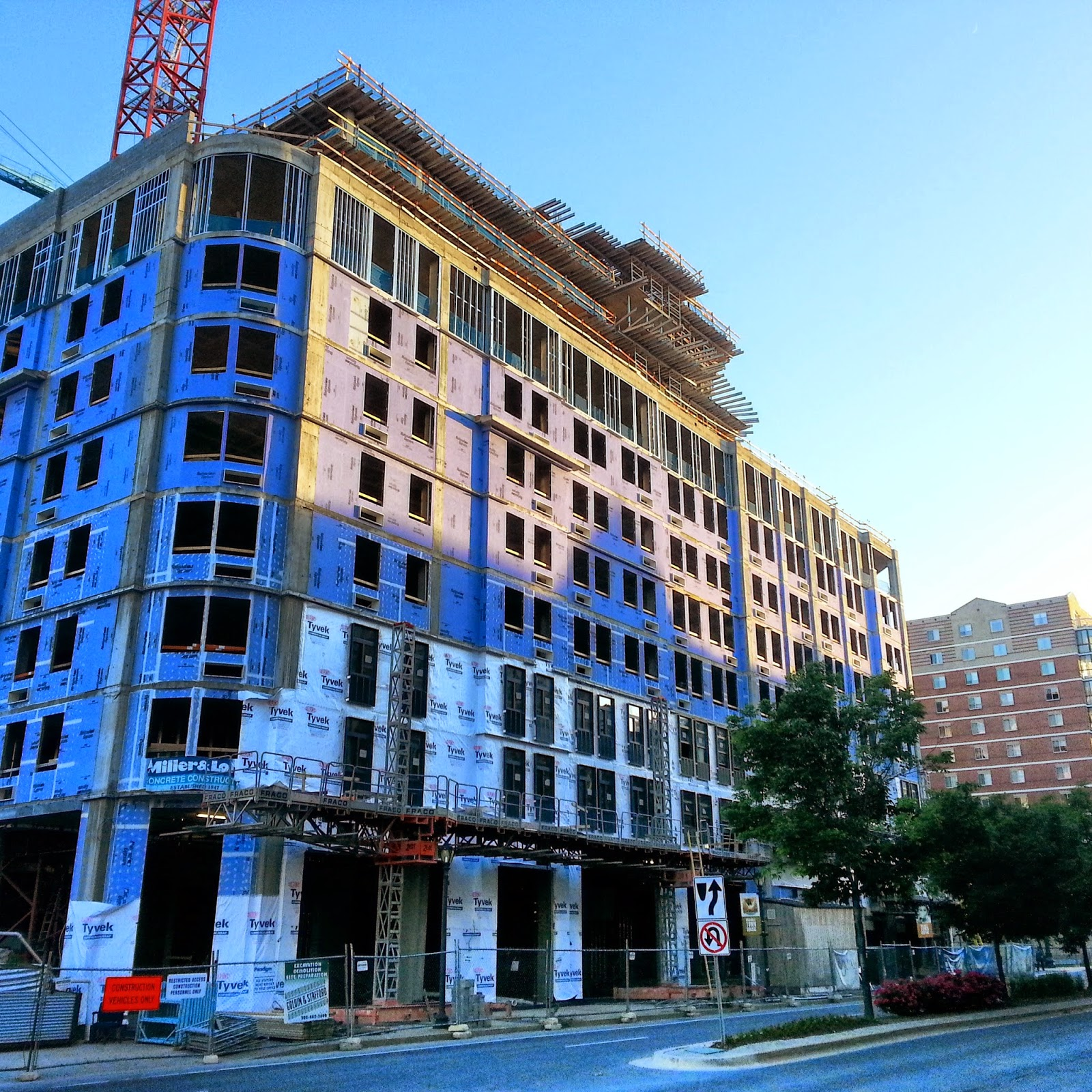 Rockville Nights: THE UPTON/CAMBRIA SUITES ROCKVILLE