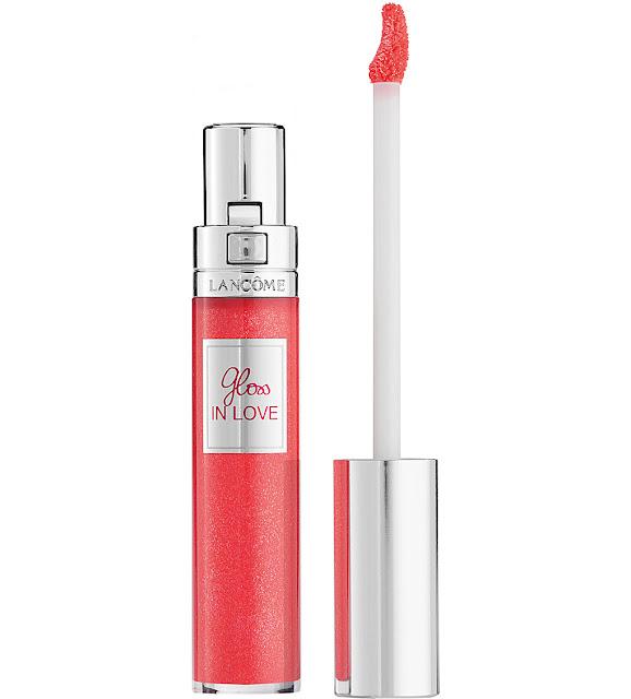 lancome lip gloss 2016, lancome glittermania, lancome gloss in love,