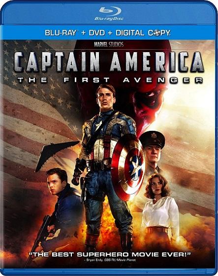 Capitán America: The First Avenger (Capitán América: El Primer Vengador) (2011) 1080p BluRay REMUX 30GB mkv Dual Audio DTS-HD 7.1 ch