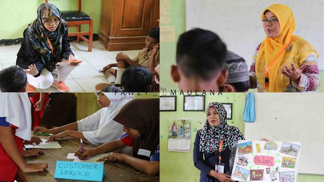 foto kegiatan relawan kelas inspirasi cirebon 2