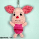 patron gratis cerdo piglet amigurumi | amigurumi free pattern pig piglet