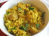 Basmati Rice Spiked with Chickpea Flour Dumplings