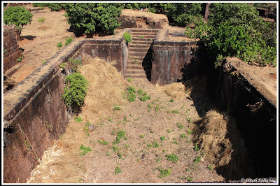 Water trench at Gopalgad