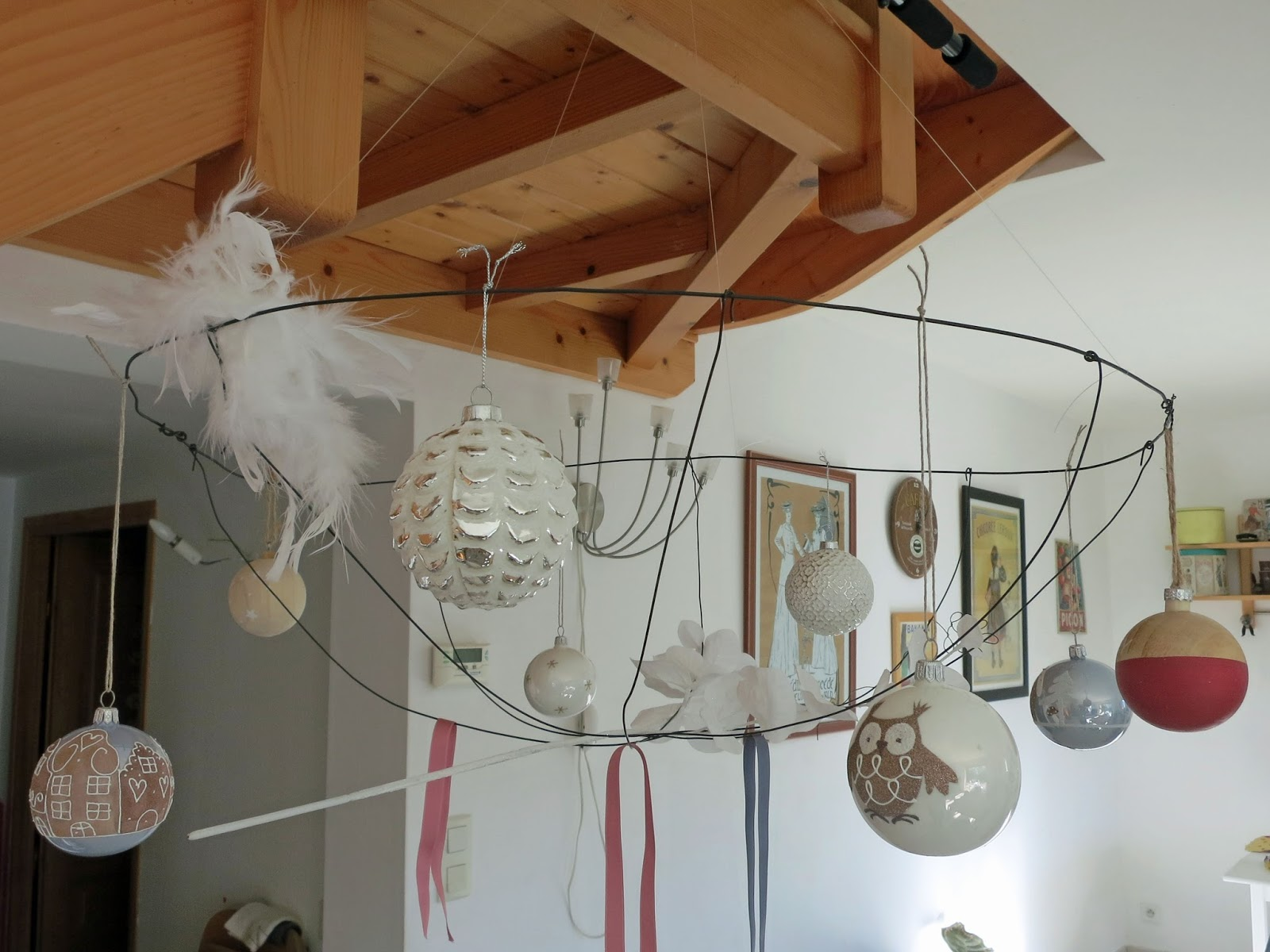 Decoration Noel Suspension Plafond Noel Magique En Europe