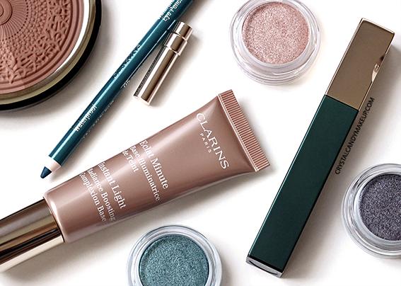 Clarins Aquatic Treasures Summer 2015 Makeup Collection Review