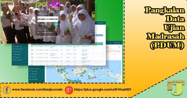 Pangkalan Data Ujian Madrasah (PDUM)