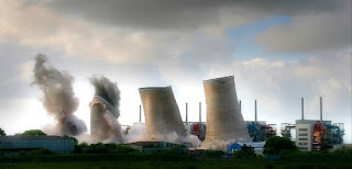 Chapelcross nuclear power plant in Scotland was decommissioned in 2007 (Credit: theenergycollective.com) Click to Enlarge.