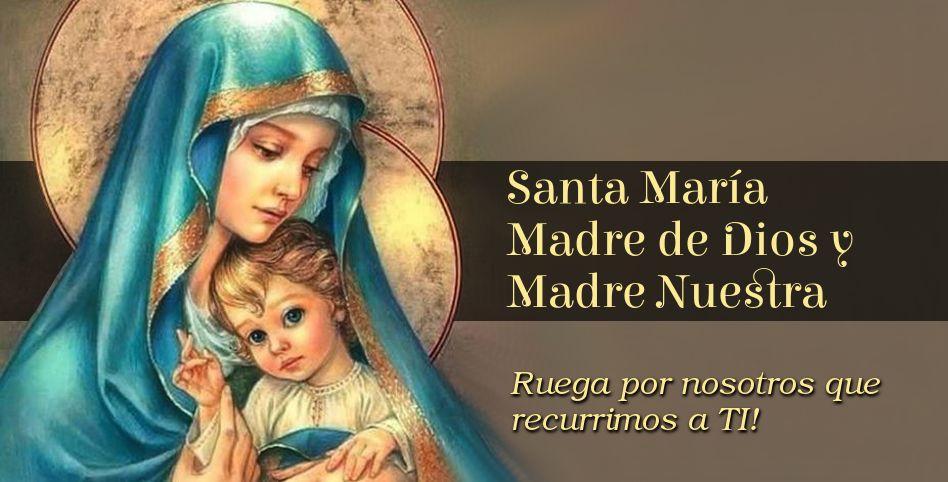 Resultado de imagen de maria madre de dios y madre nuestra