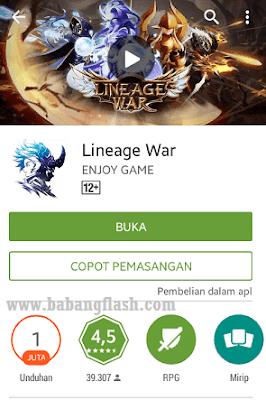 Berbagi informasi tentang game android rpg online terbaik.. aplikasi atau apk game RPG Lineage War 3D..gratis..RPG 2015..2016..game online terbaik dan terbaru
