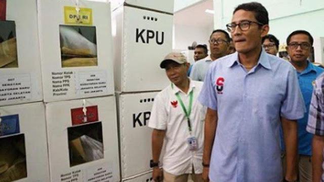 Sebut KPU Lakukan Banyak Pelanggaran Pemilu, Sandiaga Uno: Ini Bukan soal Kalah-Menang