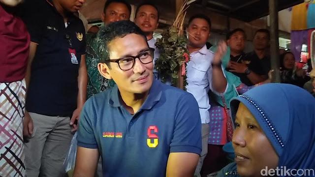 Sandi: Prabowo akan Mundur dari Pilpres Jika Dicurangi