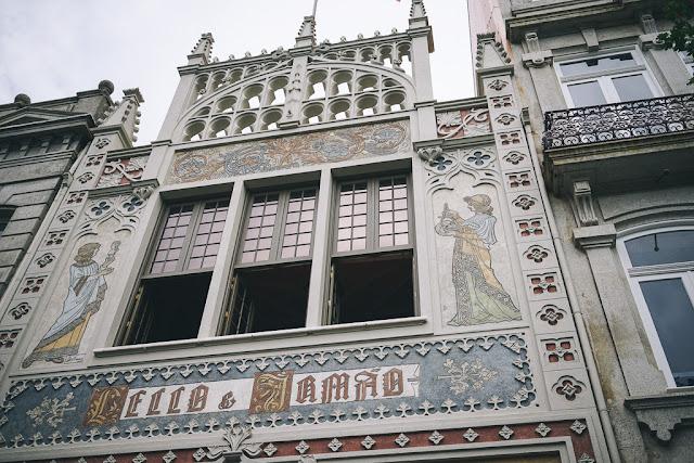 レロイ・イ・イルマオン書店(Livraria Lello e Irmão)の外観
