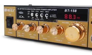 amplificatore stereo bluetooth bt-158