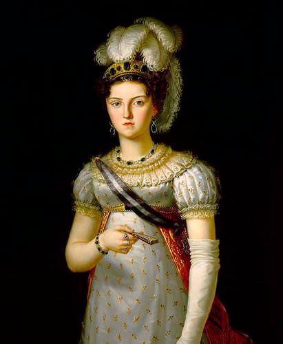 Maria Josepha of Saxony by  Francesco Lacoma y Fontanet, 1820