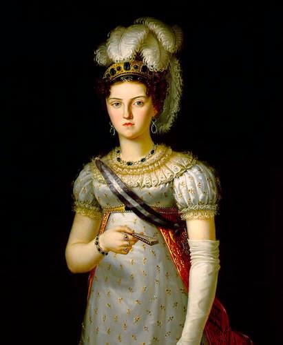 Maria Josepha of Saxony by  Francesco Lacoma y Fontanet, 1820