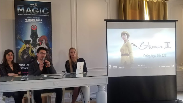 Cédric Biscay at the MAGIC Monaco press conference