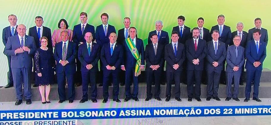 Veja a lista dos novos ministros empossados