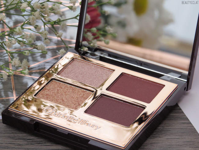 charlotte tilbury maquillage feelunique palette the vintage vamp