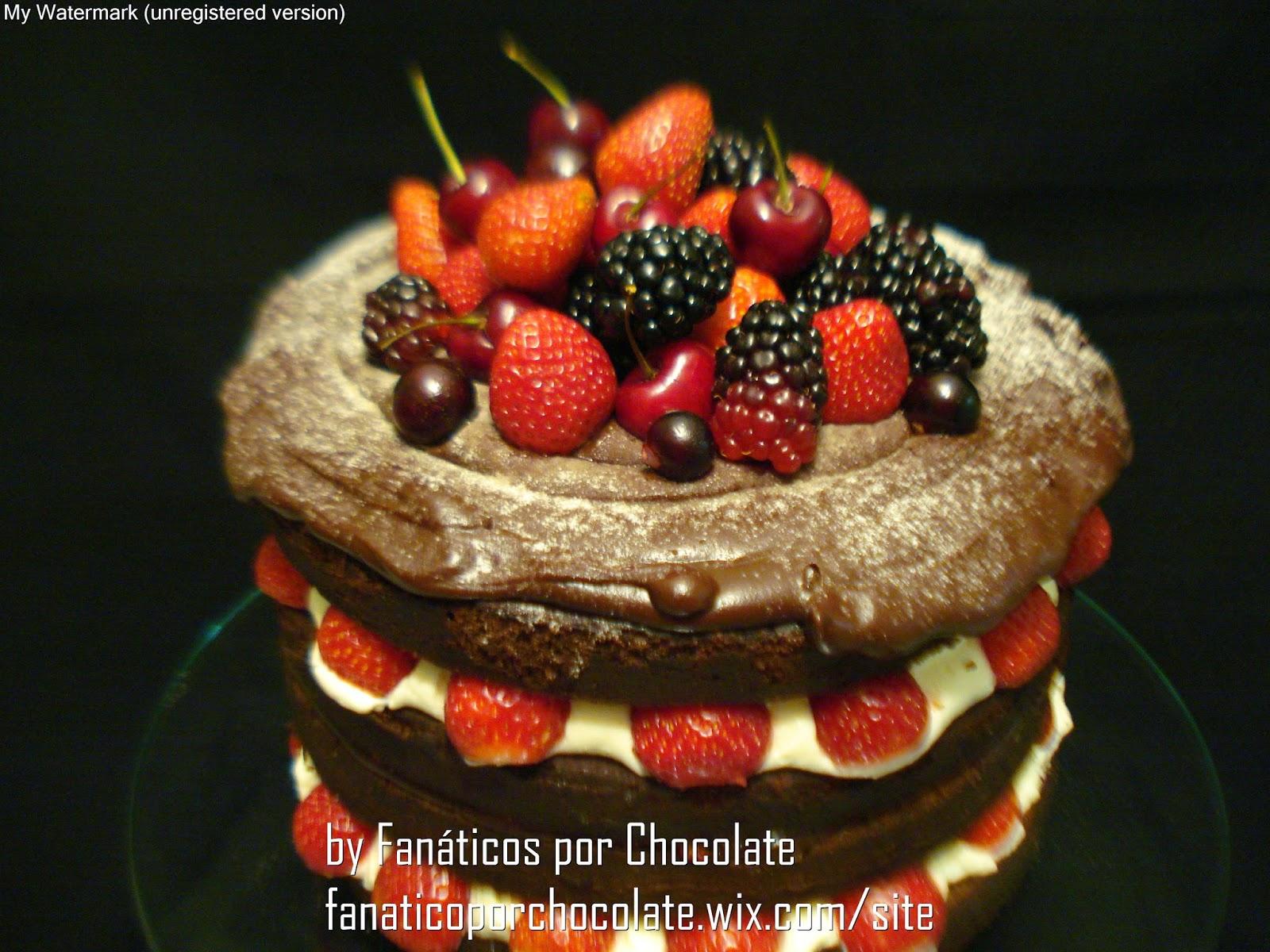 naked-cake-de-frutas-vermelhas - Confeitaria OnLine Oficial