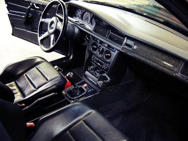 190e interior