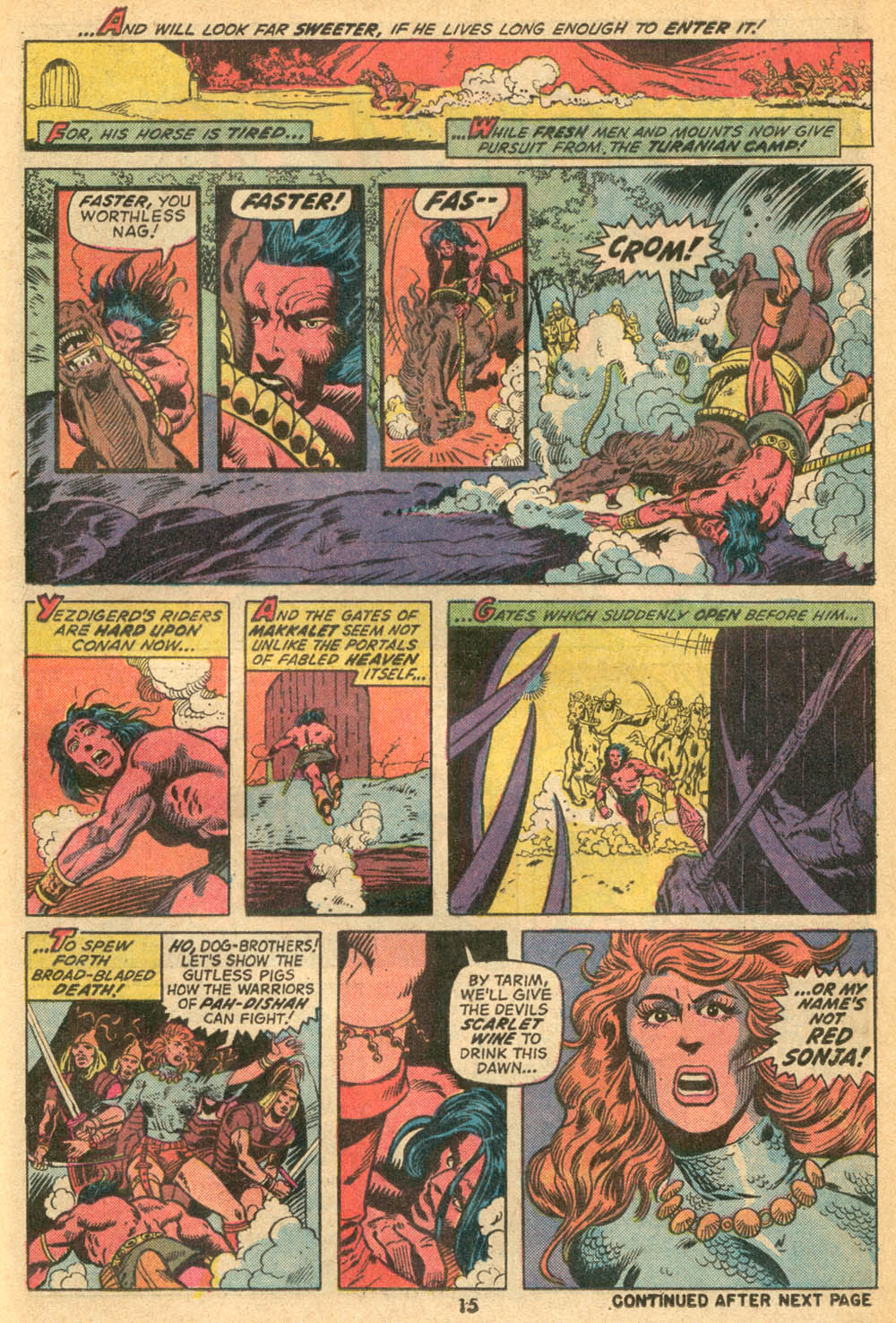 Conan the Barbarian (1970) Issue #23 #35 - English 12