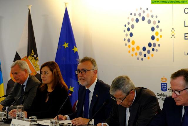 Los gobiernos de Canarias, Baleares, Ceuta y Melilla solicitarán de manera conjunta al Estado mejoras para garantizar una conectividad más igualitaria