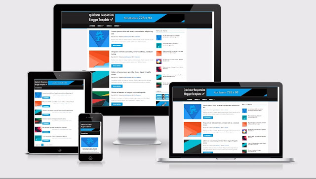 Quickster is simple, clean & Responsive blogger template, having support lots for amazing features such as Fast Loading, Breadcrumbs, Related Post, FlatUI, Back to Tob Button and much more