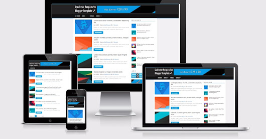 Quickster Responsive Blogger Template