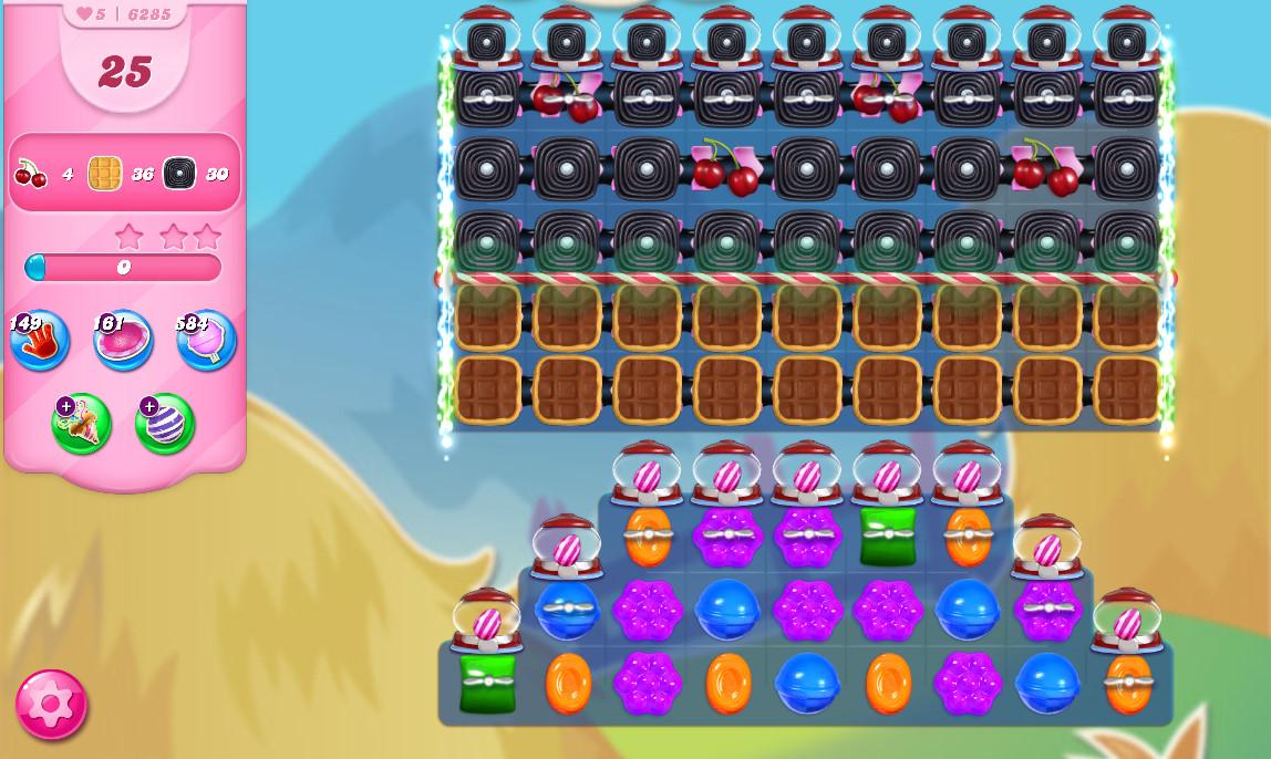Candy Crush Saga level 6285