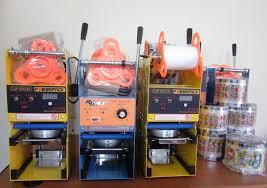 Mesin Cup Sealer Untuk Usaha Minuman