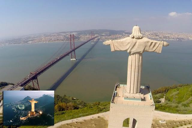 Il Cristo Re di Lisbona e il Cristo Redentore di Rio de Janeiro