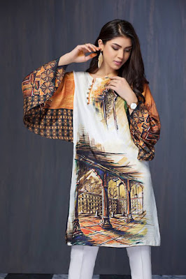 Resham Ghar  Shirt Pieces 2018