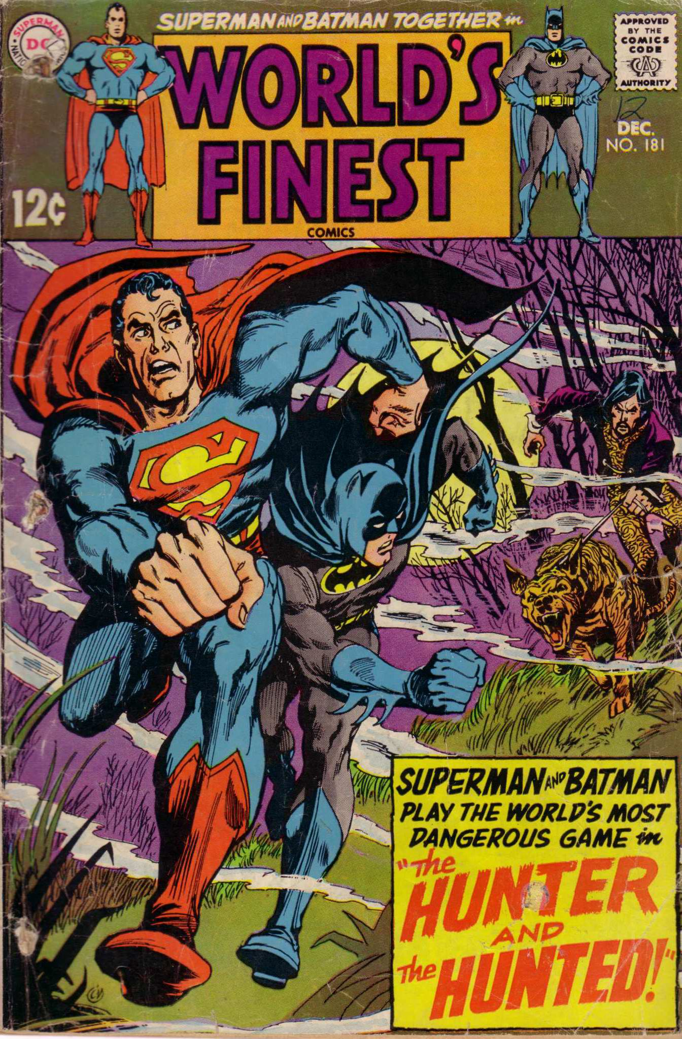 Read online World's Finest Comics comic -  Issue #181 - 1