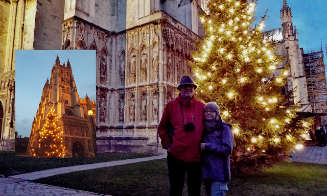 christmas, canterbury cathedral,