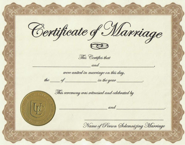 Proxy Marriage