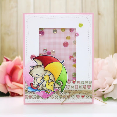 Marge's card features Newton's Rainy Day by Newton's Nook Designs: #newtonsnook