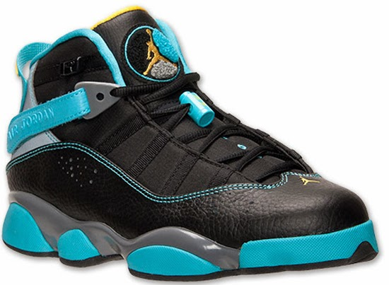 official photos dd89b ecc81 Jordan 6 Rings Black Varsity Maize-Cool Grey-Gamma Blue Now Available