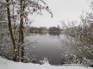 Snowy Charnwood Water Loughborough