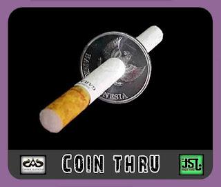 toko sulap jogja Coin Tembus Rokok