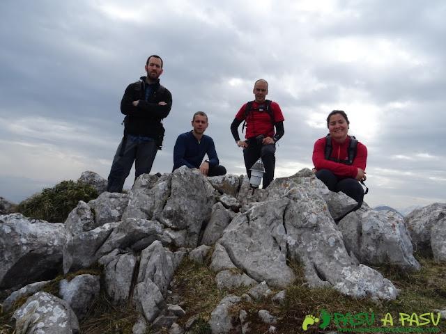 Les Bobies - Gamonal: Cima del Pico Calza