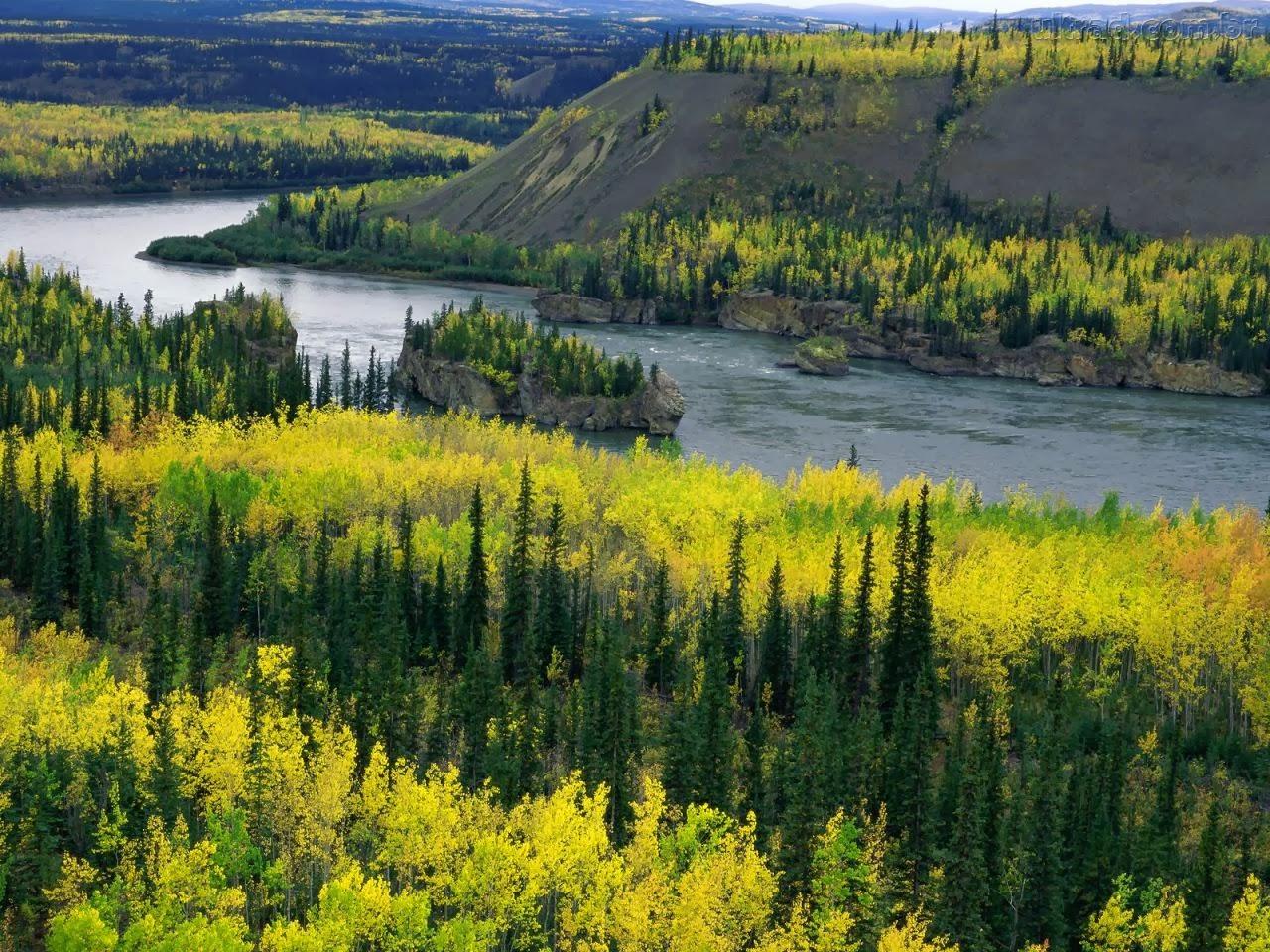 Rio Yukon - Canadá/Estados Unidos