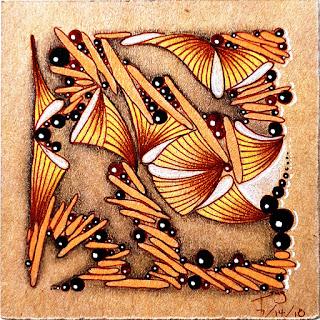 IAST #250 Challenge with Tangle Patterns: Stikz, Munchin