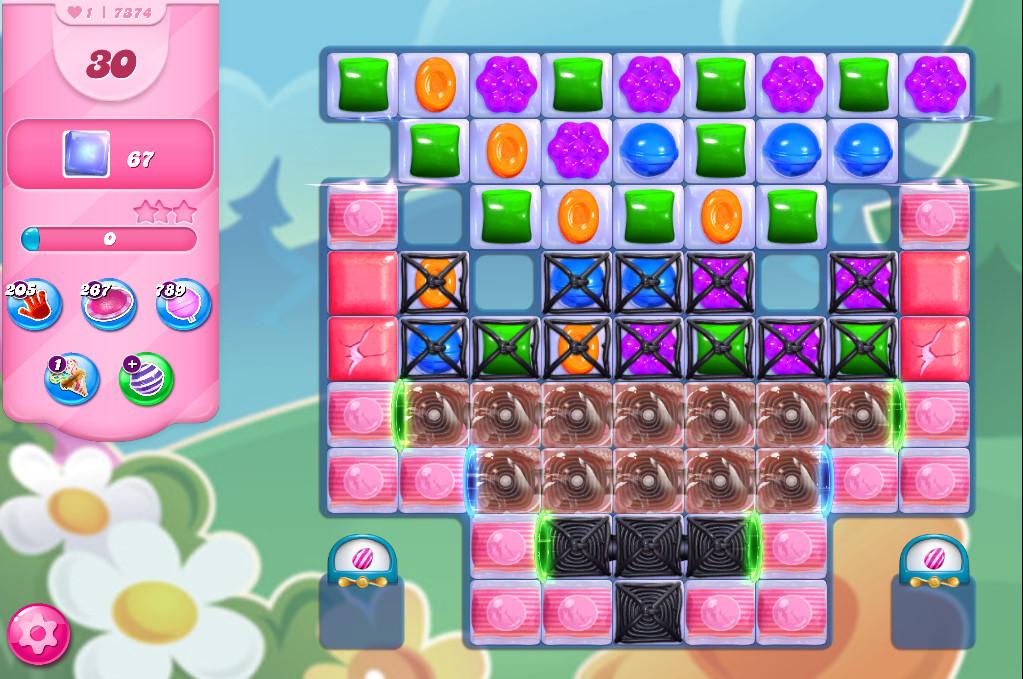 Candy Crush Saga level 7374
