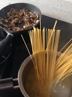 Cocer spaghetti