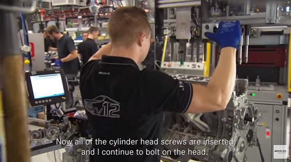 Así se ensamblan los motores Mercedes AMG (video)