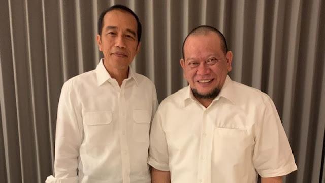 Bertemu 30 Menit, La Nyalla Minta Maaf Pernah Tuding Jokowi PKI