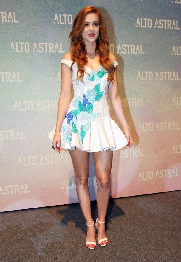 Sophia Abrahão, novela Alto Astral vestido