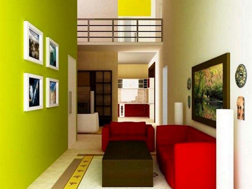 4 Bentuk Cat  Interior Rumah  Type  45  Terlihat Minimalis