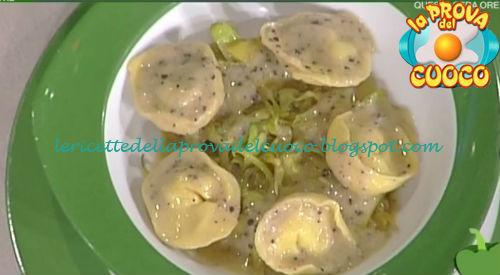 Tortelli con pecorino e carciofini ricetta Giunta da Prova del Cuoco
